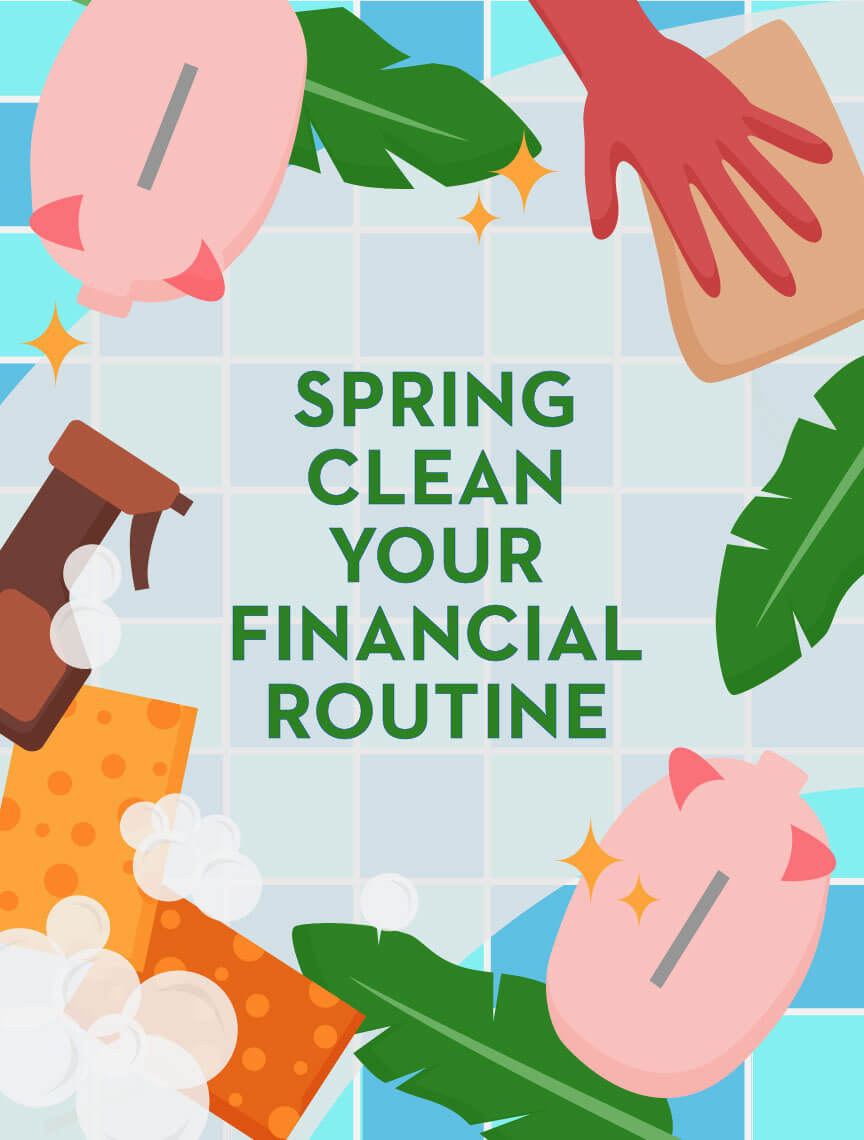 spring clean your financial routine