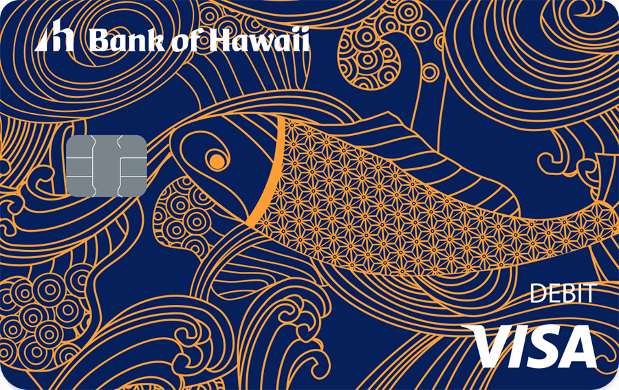 Bank of Hawaii Visa debit card